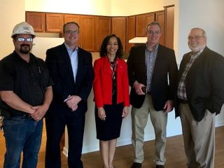 Congresswoman Lisa Blunt Rochester Visits Jobsite